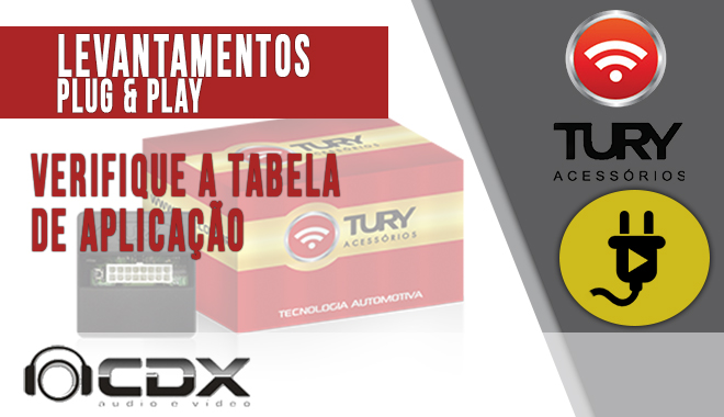 Levantamentos Plug & Play TURY